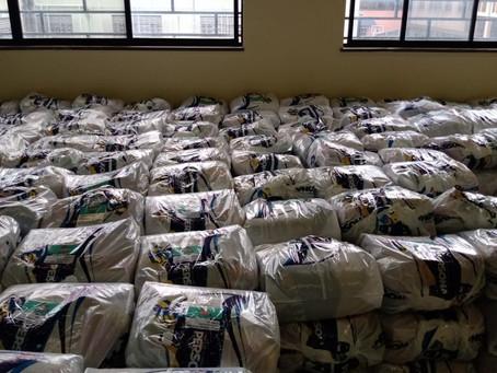 Instituto MRV doa 400 cestas básicas para a campanha Comunidade Viva sem Fome