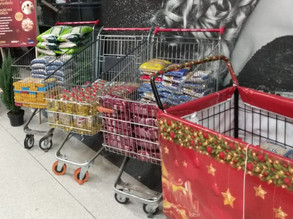 Campanha Comunidade Viva sem Fome no Natal da Solidariedade do Instituto GPA/Extra Hipermercado