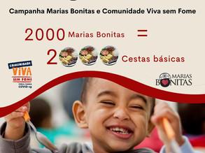 Marias Bonitas de Lourdes arrecadam 2 mil cestas básicas para a campanha Comunidade Viva Sem Fome