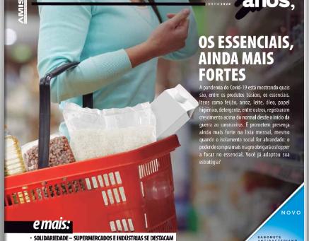 Nossa Campanha foi destaque na Revista Gôndola!