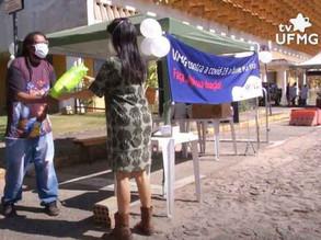 Campanha UFMG Contra a Covid-19, a Fome e o Frio arrecada mais de 3 toneladas de doações!
