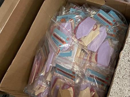Comunidade Viva sem Fome recebe mais de 3000 máscaras
