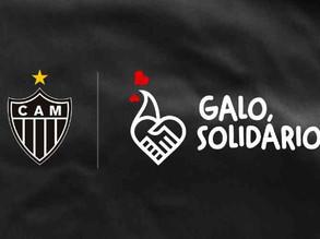 Atlético-MG lança campanha social e traça meta de arrecadar R$1,113 milhão em cestas básicas