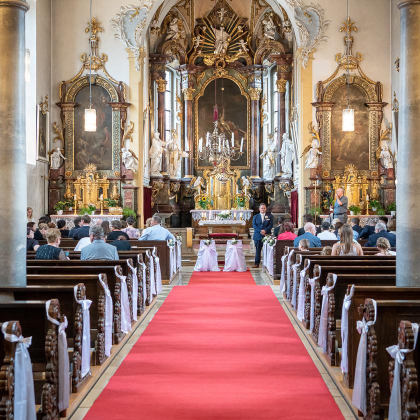 Trauung in Bergrheinfeld