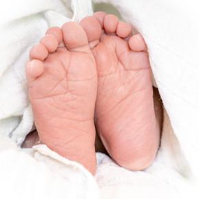 Babyfotos / Newborn - Kleine Füße