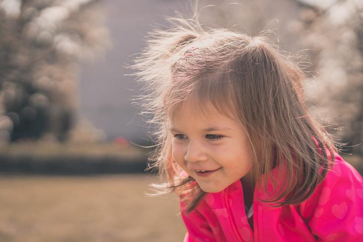 Kinderfotos - Wirbelwind