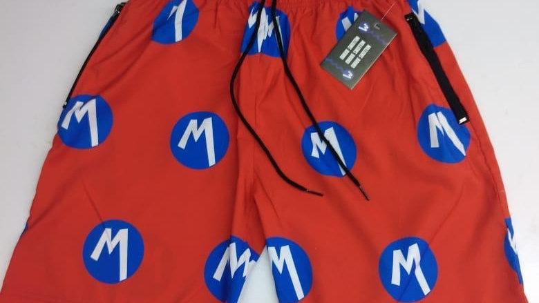 Millions Multi Logo Shorts