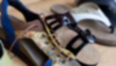 Slippers, sandalen, sloffen, op maat, Sandalinos, Zlippo, steunzolen,