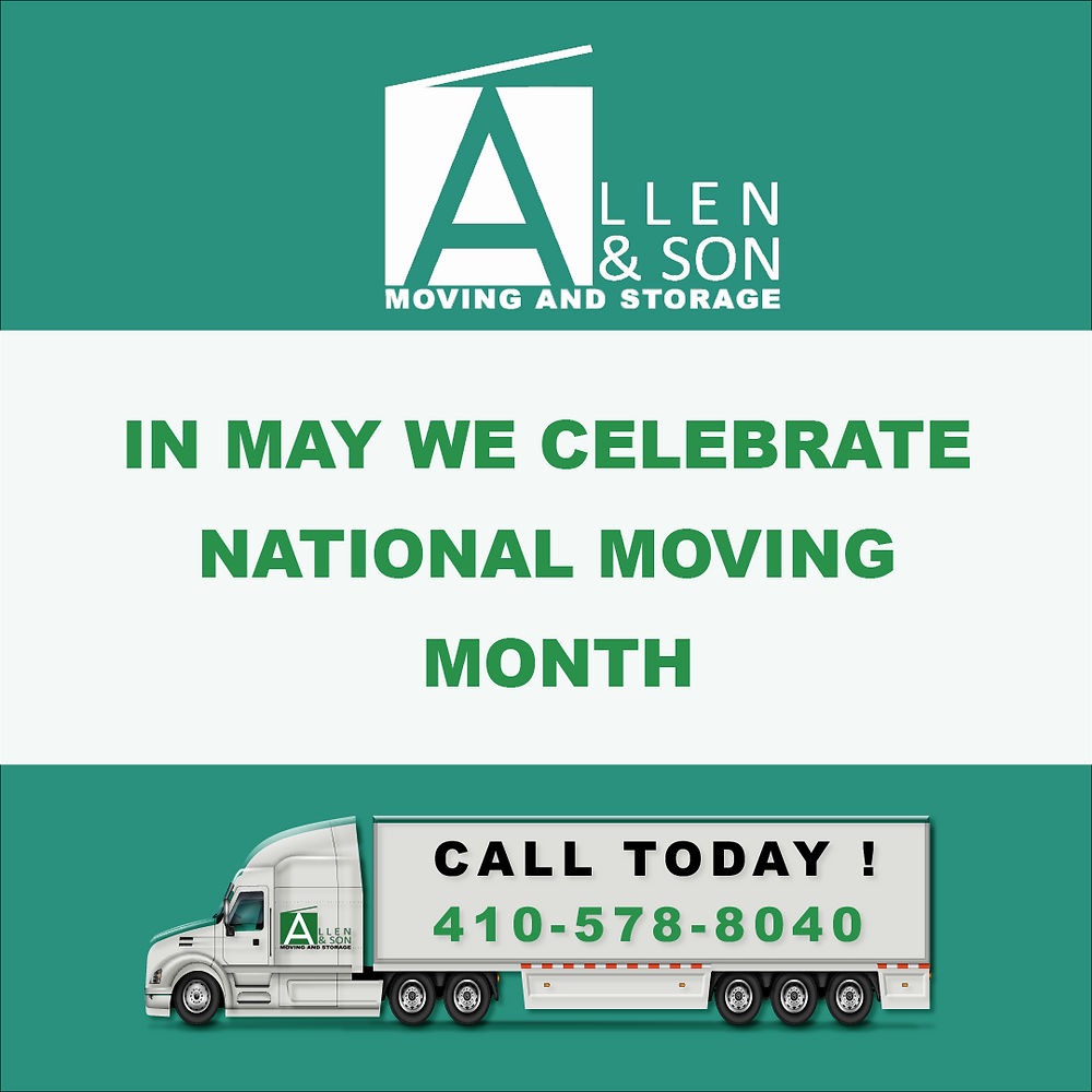 May: Moving Month