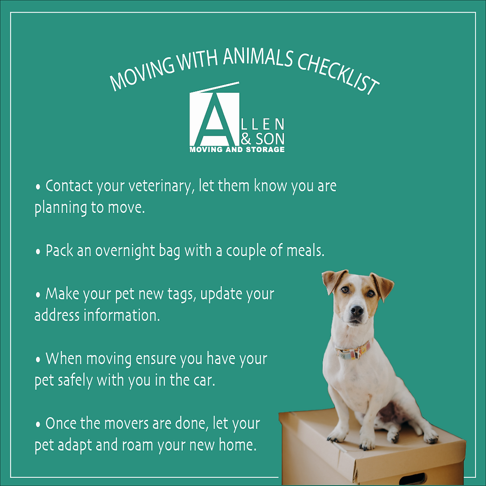 Moving with Animals Checklist