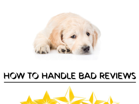 Tips to handle negative customer reviews :