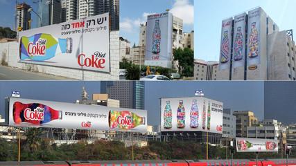 Diet Coke | Extraordinery collection billboards