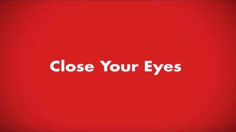 Coca-cola | Close your eyes | Black