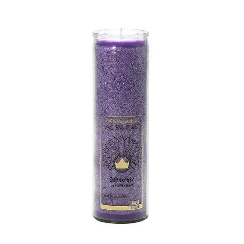 脈輪能量無香味-頂輪-紫