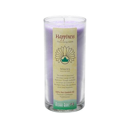 脈輪能量香氛玻璃裝-頂輪-Happiness
