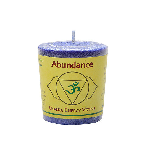 脈輪香氛許願小燭-眉心輪-Abundance