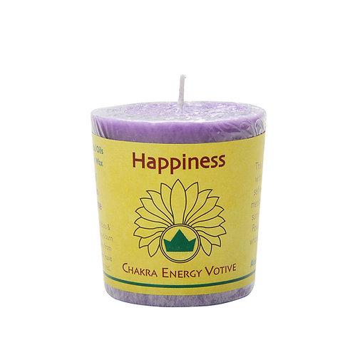 脈輪香氛許願小燭-頂輪-Happiness