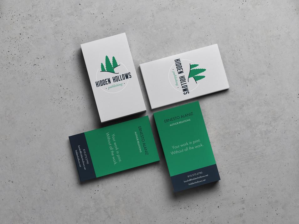 Hidden Hollows Business Card