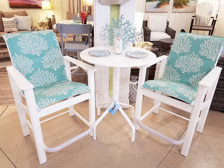 Counter Height Outdoor Bistro Set (3pc)