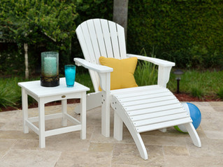"""Poly Lumber Outdoor Furniture: Why this """"wood"""" rocks!"""