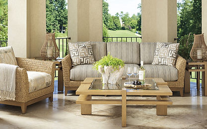 Tommy Bahama outdoor furniture from Porch Concepts available for delivery to Wilmington NC, Leland NC, Southport NC, Surf City NC, Holly Ridge NC, Sneads Ferry NC, Hampstead NC and Shallotte NC.