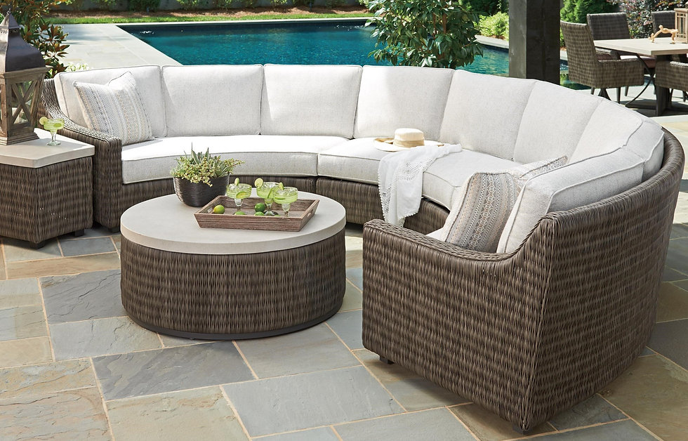 Tommy Bahama Outdoor Furniture available in Wilmington NC at Porch Concepts.