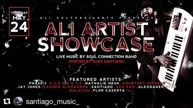 🌸Tonight! I'll be shareing my music at the _aliartspompano on stage with these local artists! From