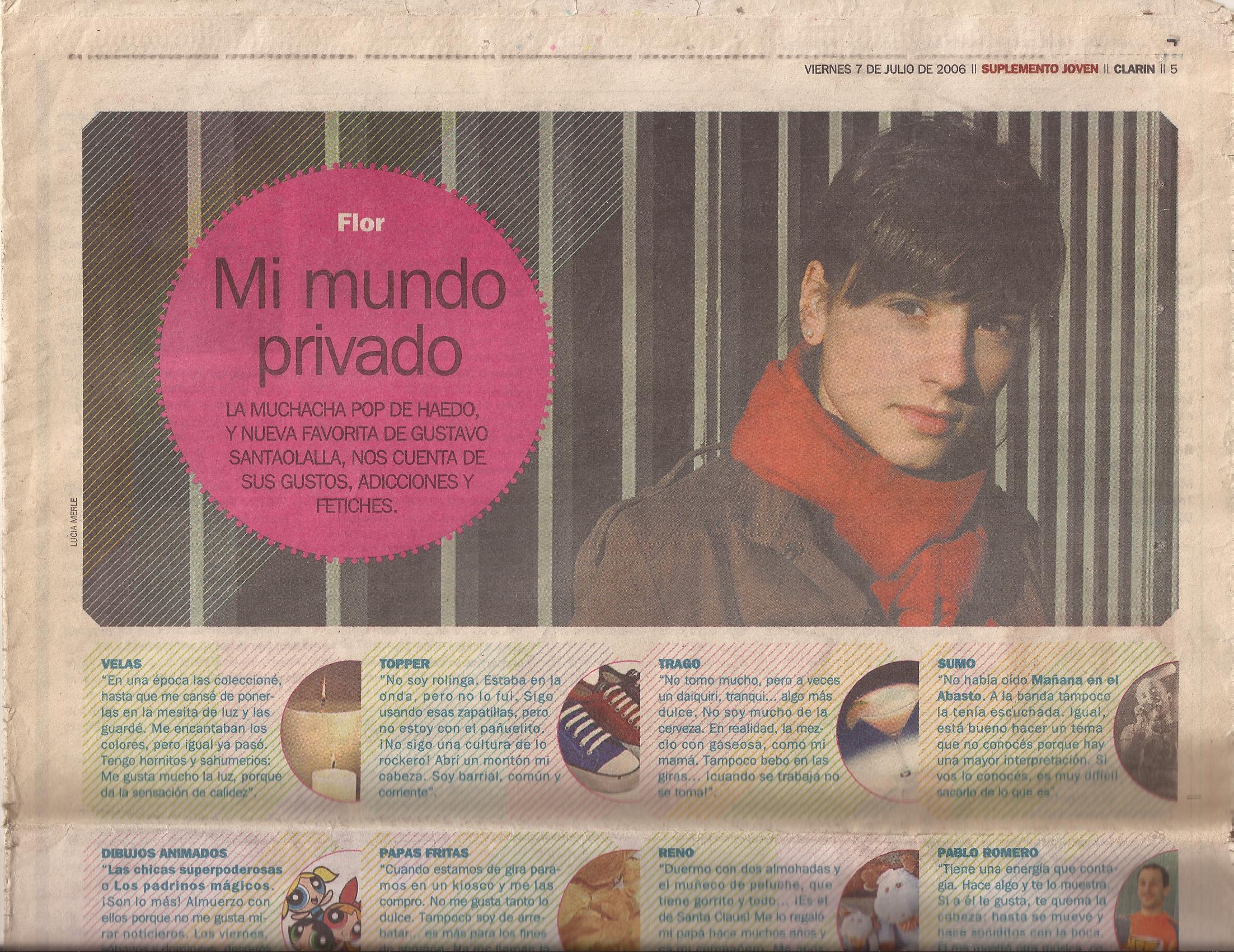 Entrevista. Diario Clarin