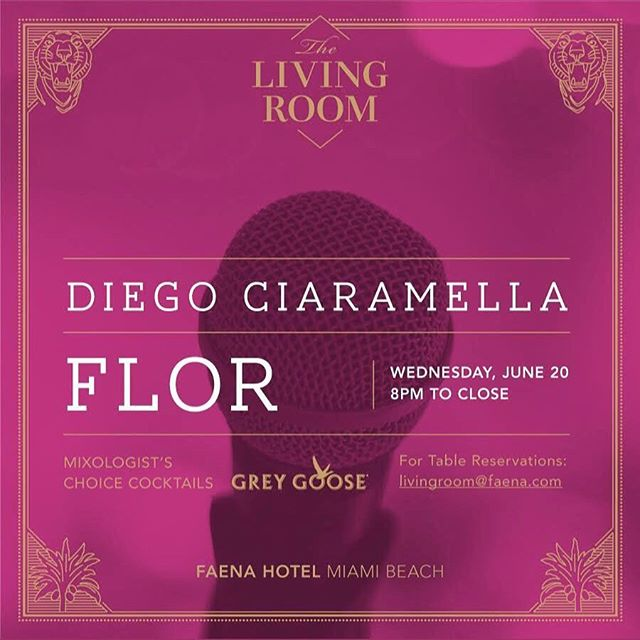 #tonight performing with my dear Alejandros _ale_carrau & _alejandro.zon at _faena . Come join us, s