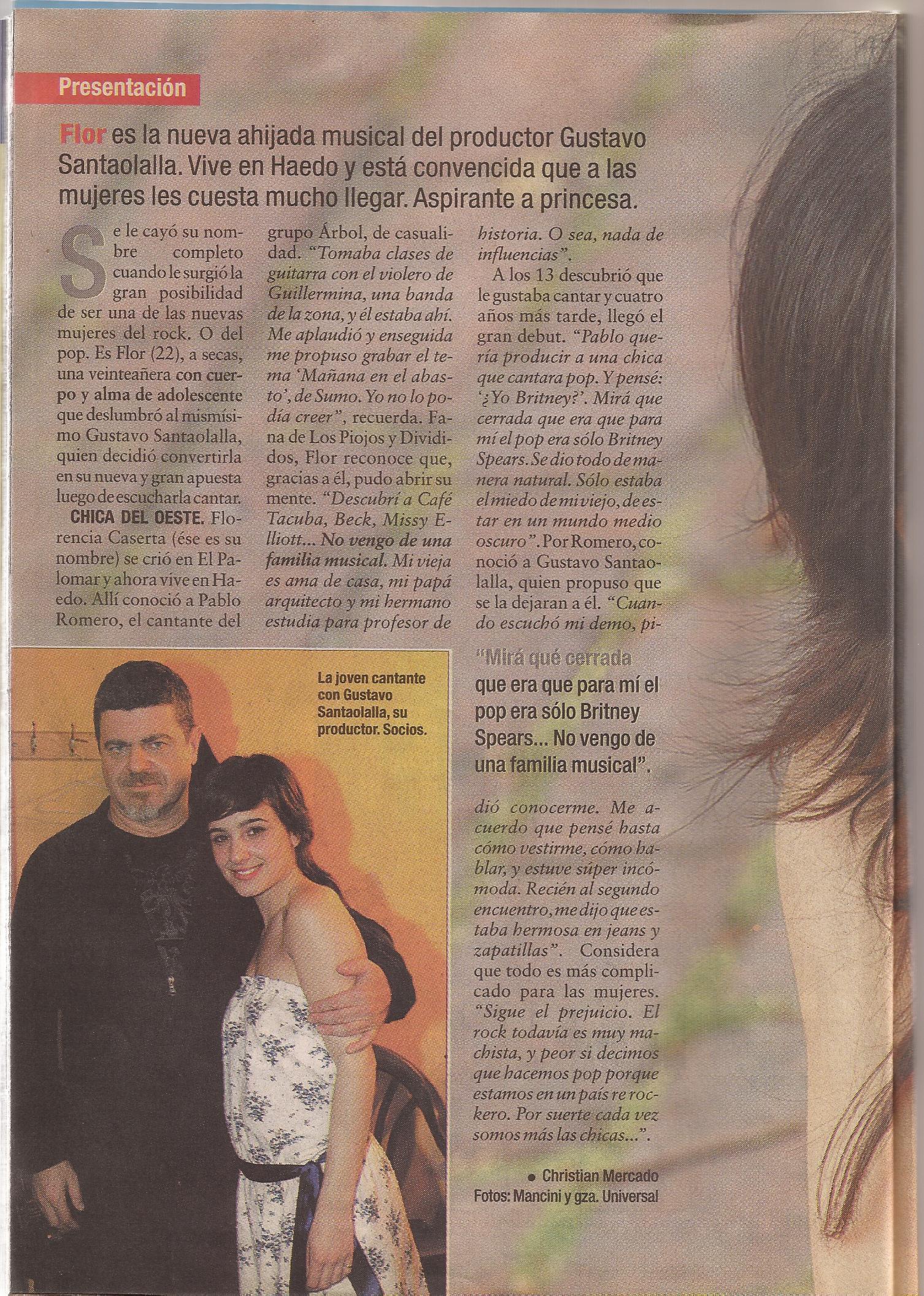 Entrevista. Revista Semana