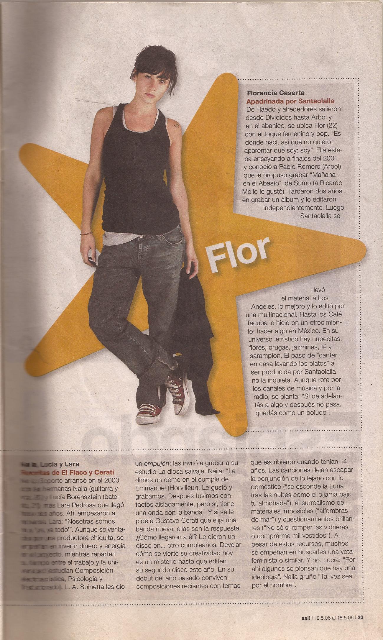 Entrevista. Revista Clarin