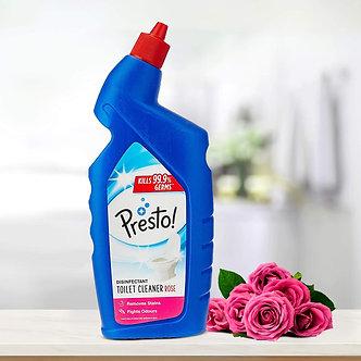Presto! Disinfectant Toilet Cleaner, Rose - 1 L