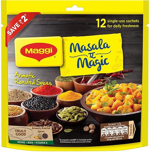 MAGGI Masala-ae-Magic Seasoning, Vegetable Masala - 72g Pouch (12 Sachet)