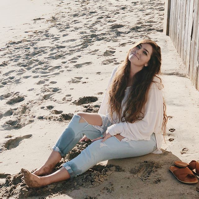 always happiest sittin' in the sand _-)