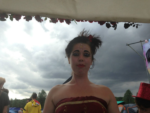 Fortune Teller at Standon Calling