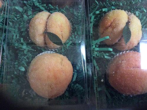Peach Cookie favor