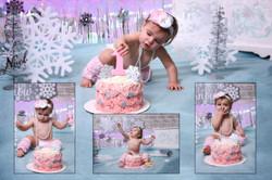 Lilly 1st birthday (Cake Smash)