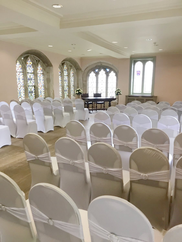 Elegant Indoor ceremonys
