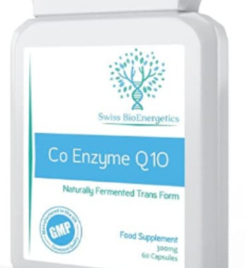Swiss Bioenergetics Co Enzyme Q10 Superior Naturally Fermented