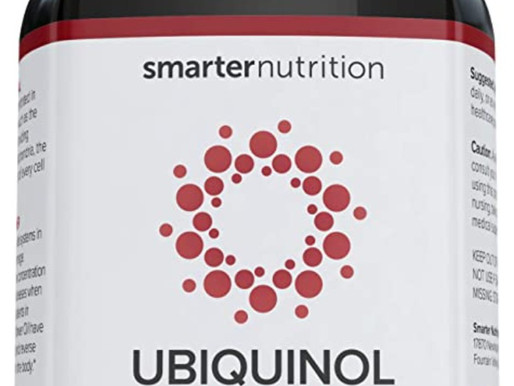 Smarter Ubiquinol - Plant-Based Active CoQ10 for Heart, Liver, Brain Health - with Ahiflower Seed Oi