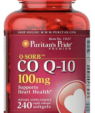 Puritan's Pride Premium CoQ10 Supports Heart Health