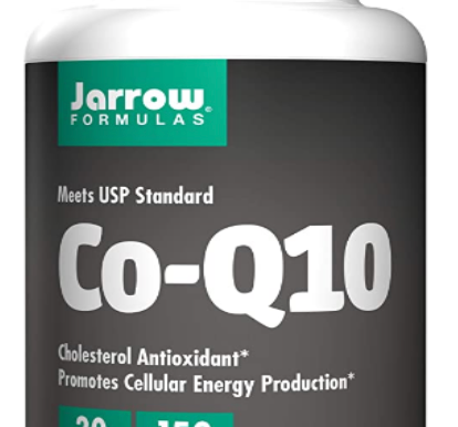 Jarrow Formulas Co-Q10 Promotes Cellular Energy Production