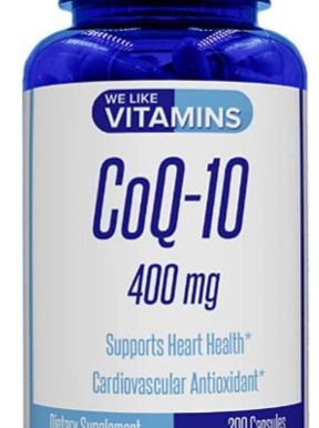 We Like Vitamins' CoQ10 Supports a Healthy Heart and Energy Levels