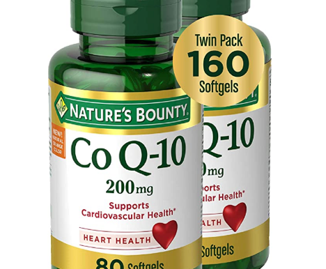 CoQ10 by Nature's Bounty, Dietary Supplement, Supports Heart Health