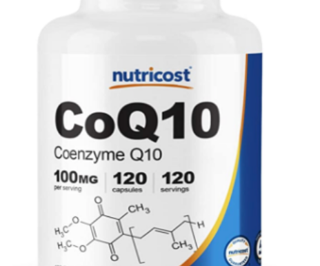 Nutricost CoQ10 High Absorption, Vegan, Non-GMO, Coenzyme