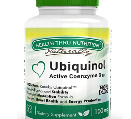 Ubiquinol (Soy-Free) (Non-GMO) EAF CoQ10 Enhanced Absorption Formula