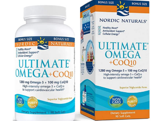 Nordic Naturals - Ultimate Omega +CoQ10, Support for the Heart's Overall Energy Needs