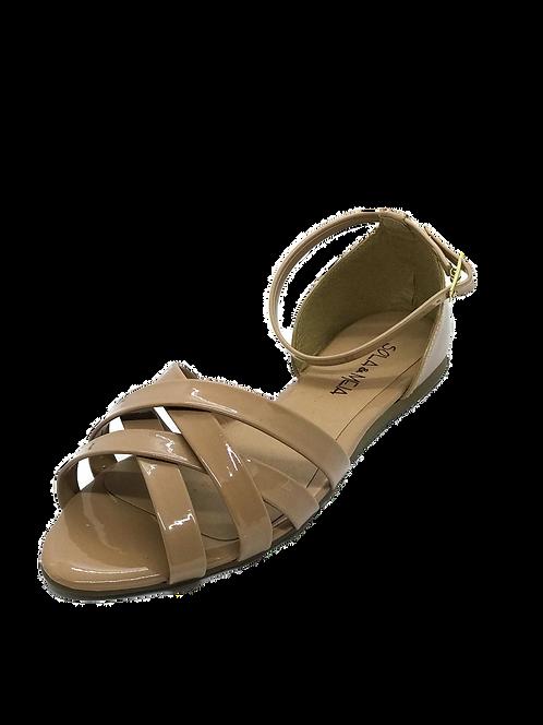 Sandália verniz