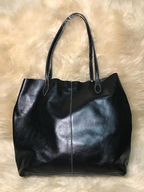 Bolsa couro saco