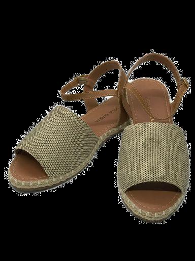 Sandália tecido